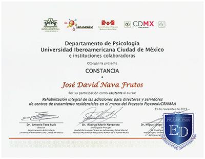 Ibero Adicciones - David Nava
