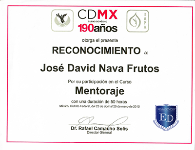 Mentoria en Adicciones - David Nava