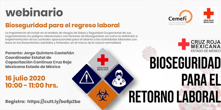 Evento - Bioseguridad para el regreso laboral