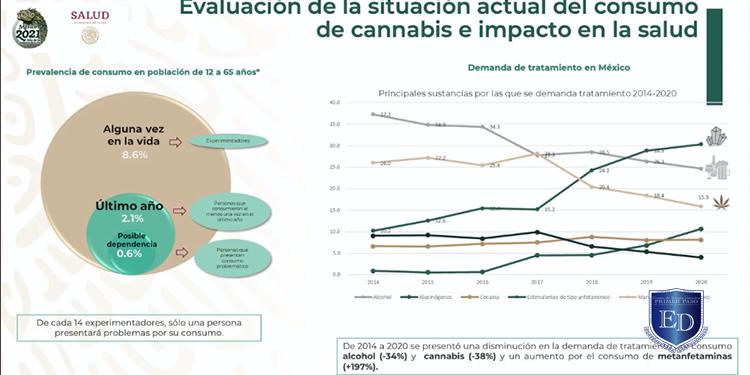 Informe sobre la situación de la salud mental y el consumo de sustancias psicoactivas 2021